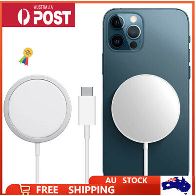 AU19.99 • Buy For Apple IPhone 12 Pro Max 12 Mini Magsafe Charging Magnetic Wireless Charger