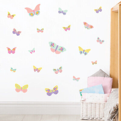 £14.95 • Buy Butterfly Wall Stickers, Wall Decals Collection, Floral Butterfly Bfly.7