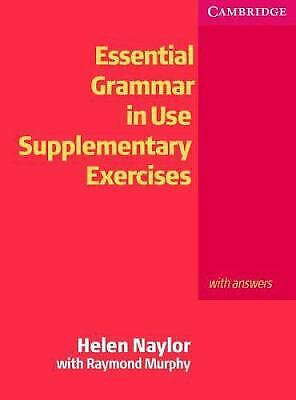 £7.91 • Buy Essential Grammar In Use Supplementary Exercises : With Answers Helen Naylor