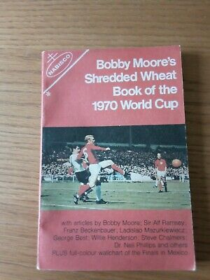 £0.99 • Buy Vintage Bobby Moore Shredded Wheat, Book Of 1970 World Cup