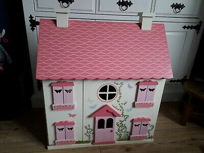 £38 • Buy Elc Rosebud Cottage Dolls House And Accessories.