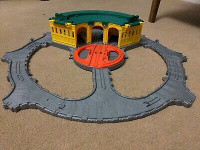 £9 • Buy Fisher Price Thomas And Friends Take N Play Tidmouth Sheds, Turntable Toy Set