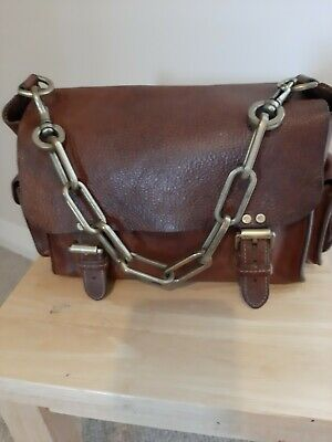 £115 • Buy Genuine Mulberry Brooke Bag Tan Darwin Leather Lovely Condition!!
