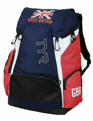 £45 • Buy RARE NEW British Swimming - TYR Alliance 45L Backpack Bag Team GB - Olympic Team
