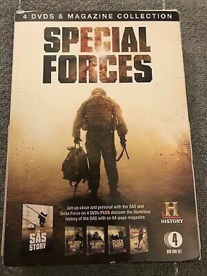 £7.95 • Buy History Channel's Special Forces 4 DVD & Magazine Box Set