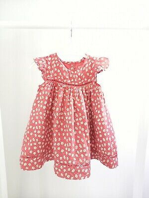 £1.95 • Buy Baby Girls 12-18 Months Floral Short Sleeve Dress Clothes Outfit Summer Cute