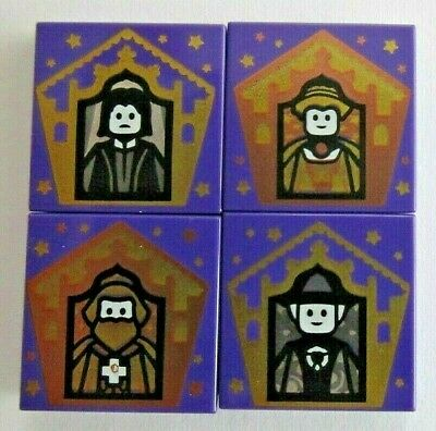 £4.99 • Buy Lego Harry Potter - Choose Your Own Wizard Cards - 2x2 Tiles -Snape Gryffindor