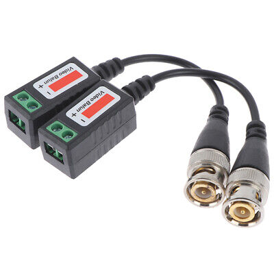 $ CDN3.97 • Buy BNC Video Balun To UTP Transceiver Connector Twisted Cable  202A CamerUTH2