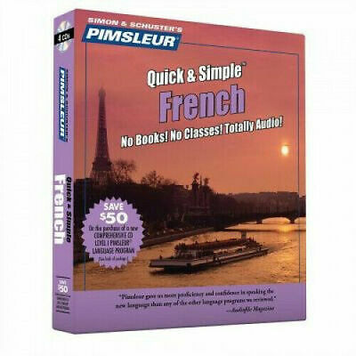 £14.95 • Buy Pimsleur French Quick & Simple Course - Level 1 Lessons 1-8 CD: Learn To Speak