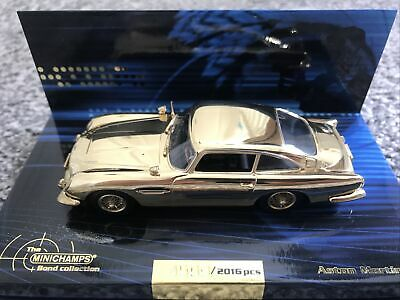 £75 • Buy MINICHAMPS BOND COLLECTION GOLD PLATED ASTON MARTIN DB5 SCALE 1:43  Limited 2016