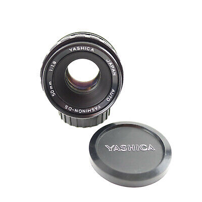 $34.99 • Buy Yashica 50mm 1:1.9 Auto Yashinon-DS M42 Pentax Screw Mount Lens With Lens Caps