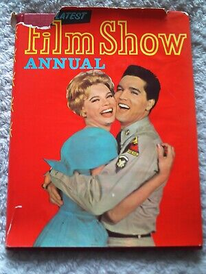 £1.49 • Buy FILM SHOW ANNUAL. 1960s, ELVIS PRESLEY & JULIET PROWSE,. FRONT COVER.