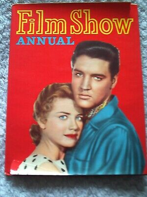 £1.49 • Buy FILM SHOW ANNUAL. 1950s, ELVIS PRESLEY & DOLORES HART. FRONT COVER.