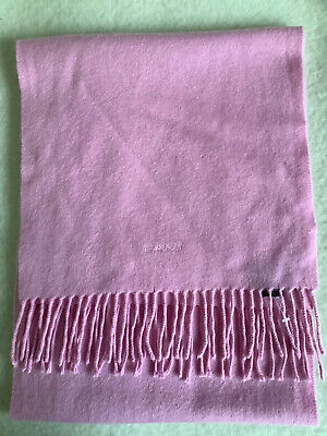 £22.95 • Buy GANT Pink 100% Pure Cashmere Scarf New