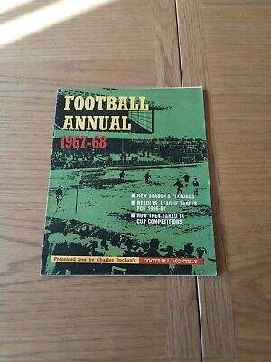 £4 • Buy Charles Buchan`s Football Monthly, Football Annual, 1967-68, Magazine Free Gift