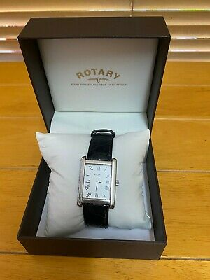 £65 • Buy Mens Sterling Silver Rotary Watch
