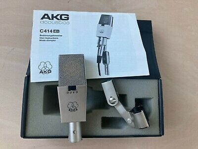 £565.55 • Buy AKG C414EB Vintage Microphone Still Boxed + User Instructions Nice Condition