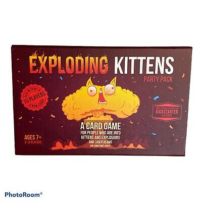 AU26.71 • Buy Exploding Kittens Party Pack Card Game Multiplayer Game Complete