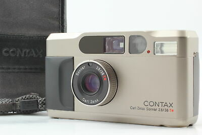 $ CDN1396.72 • Buy [Almost MINT W/ Case] Contax T2D Titan 35mm Point & Shoot Film Camera From JAPAN