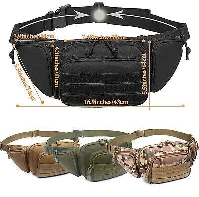 $20.69 • Buy Concealed Carry Fanny Pack Holster Tactical Carry Pistol Bag Mens Gun Carry