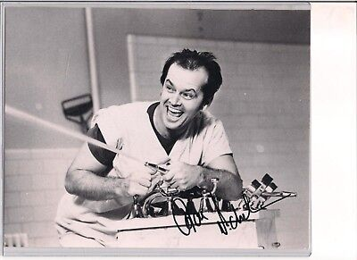 £189.72 • Buy Classic Jack Nicholson Pose From Cuckoo's Nest Hand Signed Photo With C.O.A