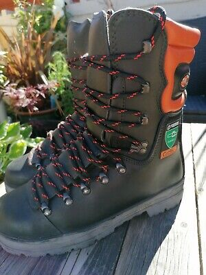 £44.99 • Buy Tremme Safety Chainsaw Boots Classe 2 Excellent!! 44