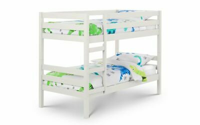 £269.90 • Buy Camden Bunk Bed Surf White Solid Pine 3ft Bunk Beds By Julian Bowen