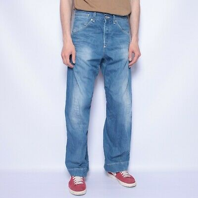 £42.74 • Buy Levis Engineered Jeans Twisted Seam Mens Blue Size W 32 L 31 Cinch-back