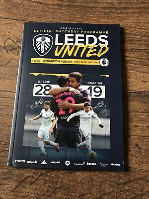 £10.01 • Buy 2020/21 Leeds United V West Brom Bromwich Albion. 23 May 2021 *sell Out*