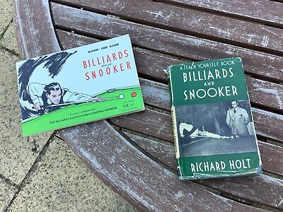 £2.99 • Buy 2 Vintage BILLIARDS And SNOOKER Books From 1957/1965