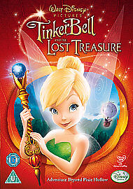 £0.60 • Buy Tinker Bell And The Lost Treasure (DVD, 2009)