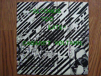 £9.99 • Buy Cabaret Voltaire – Seconds Too Late 7  Vinyl Single Rough Trade RT 060 UK 1980