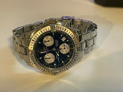 £1395 • Buy Breitling Colt Chrono Ocean Stainless Steel A53050 1999 Box & Papers