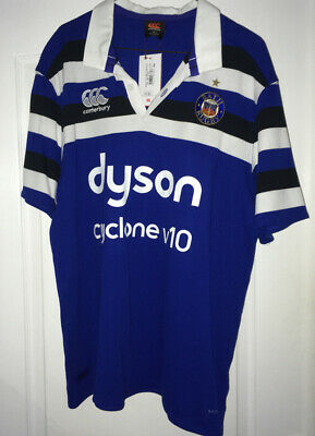 £34.99 • Buy NEW CCC Canterbury Bath Rugby Shirt (classic Fit) - With Tags