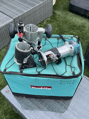 £124 • Buy Makita RT0700CX2 Power Router/Trimmer With Tilt And 4 Bases And Storage Bag 240v