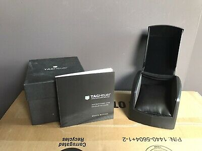 £10 • Buy Tag Heuer Watch Box With Outer Box, Manual And Pillow - Good Condition
