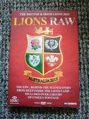 £0.99 • Buy British Lions Lions Raw 2013 Tour Dvd (New In Plastic)