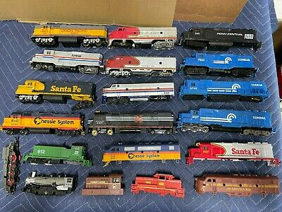 $ CDN68.21 • Buy Huge Lot Vintage HO Train Lot-Engines  Parts-Preowned USED For Parts Or Repair