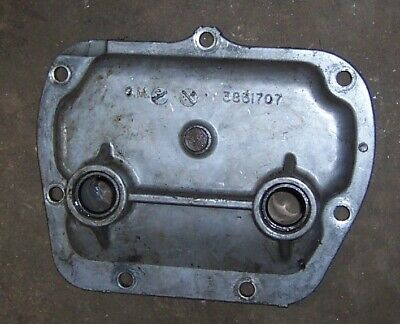$26 • Buy Used MUNCIE 4 SPEED TRANSMISSION SIDE COVER 3831707 M20 M21 M22