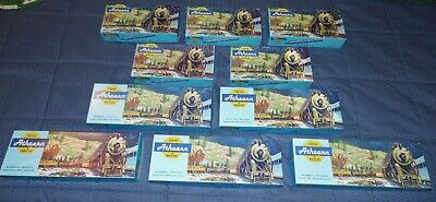 $ CDN63.34 • Buy Estate Found 10 Piece Mixed Lot Of Athearn HO Scale Train Cars In Original Boxes
