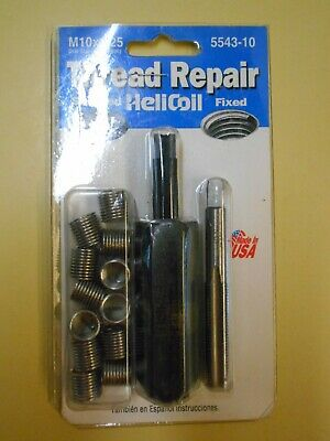 $29.95 • Buy Helicoil 5543-10 Thread Repair Kit M10x1.25 Emhard Made In USA