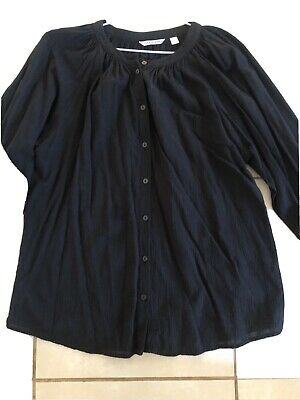 AU30 • Buy Ladies Country Road Shirt Size 16 Black As New