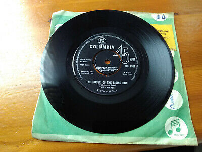 £0.99 • Buy The Animals 7  Vinyl The House Of The Rising Sun 1964 Db7301