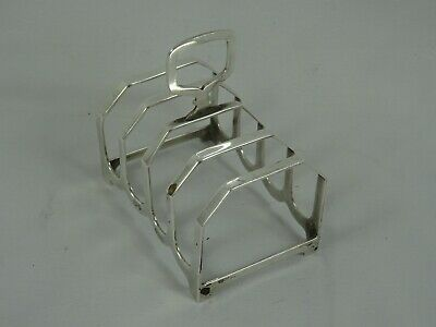 £2.20 • Buy SOLID Silver TOAST RACK, 1957, 41gm