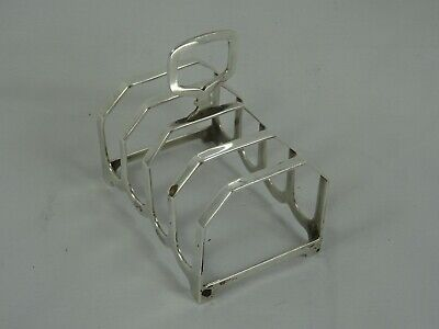 £1.20 • Buy SOLID Silver TOAST RACK, 1957, 41gm