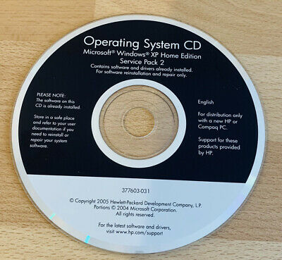£9.63 • Buy Microsoft Windows XP Home Edition / Service Pack 2 Operating System CD