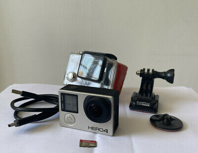 $ CDN111.54 • Buy Gopro Hero 4 With Waterproof Case Charger Cable 16GB SD MOUNT