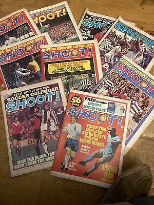 £2.99 • Buy 9 Shoot Magazines From 1969 To 1978