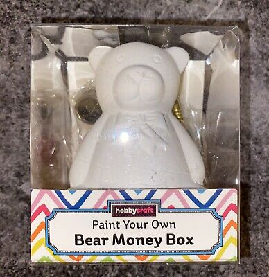 £2.49 • Buy Paint Your Own Bear Money Box