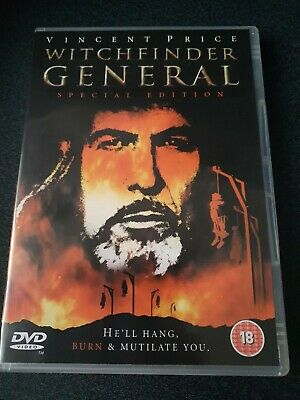 £6 • Buy Witchfinder General DVD Special Edition Vincent Price Free P&P New Not Sealed